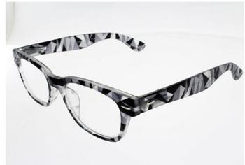 I Need You Woody Crazy schwarz Kunststoff-Lesebrille (Dioptrien: +01.50