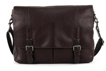 Fossil Messenger Bag »GRAHAM« aus Leder braun