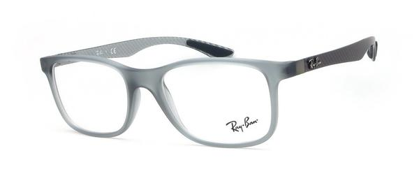 Ray-Ban RX8903 5244 (matte transparent grey/grey carbon)