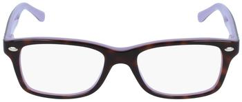 Ray-Ban RY1531 3700 (top havana on violet)