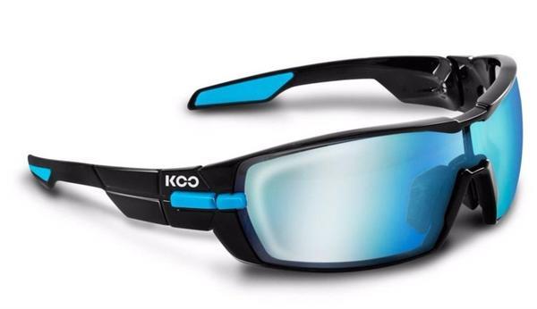 Kask KOO Open (black-light blue/bluesky + clear)