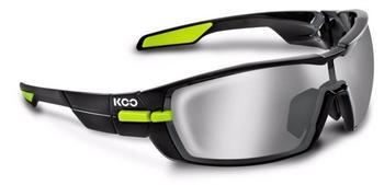 Kask KOO Open (black-green/smoke + clear)
