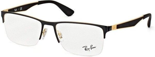 Ray-Ban RX6335 2890 (black polished on gold)