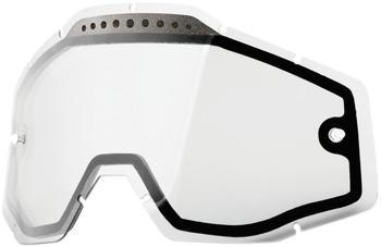 100% Racecraft/Accuri/Strata Ersatzglas dual clear 2017 Brillenzubehör