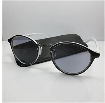 Kost 2in1Lesebrille-Sonnenbrille +2,5 Retro-Design2 für Damen&Herren Lesehilfe Etui Fertigbrille