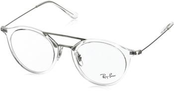 Ray-Ban RX7097 2001 (white transparent)