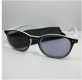 Kost Lesebrille-Sonnenbrille +2.50 DPT schwarz weiß