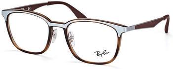 Ray-Ban RX7117 8016 (matte havana)