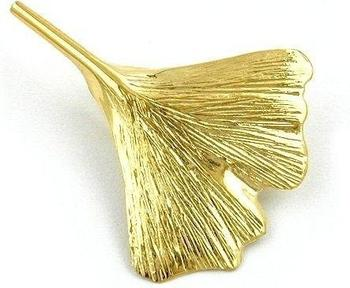 Gallay Goldbrosche Ginkgoblatt (430156)