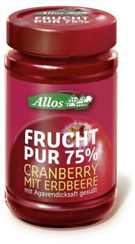 allos-frucht-pur-cranberry-250-g