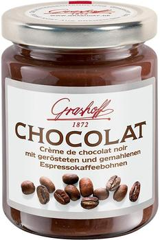Grashoff Creme de chocolat noir mit Espressokaffeebohnen (250 g)