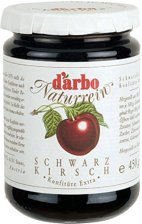 Darbo Naturrein Schwarzkirsch (450 g)