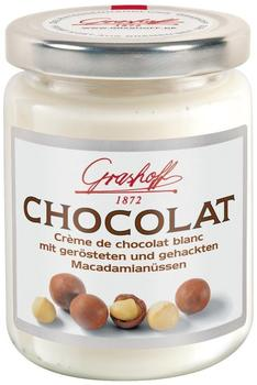Grashoff Creme de chocolat blanc mit Macadamia (235 g)