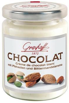 Grashoff Creme de chocolat blanc mit Pistazien und Bittermandelaroma (235g)