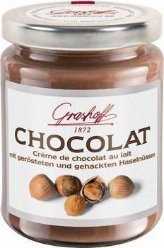 Grashoff Creme de chocolat au lait mit gehackten Haselnüssen (235g)