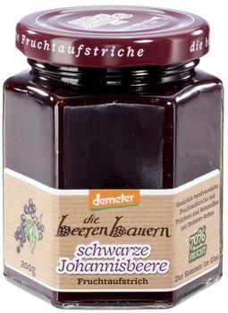 Beerenbauern Johannisbeere schwarz (200 g)