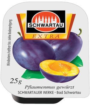 Schwartau Extra Pflaumenmus (100 x 25 g)