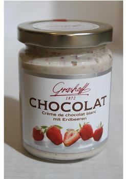 Grashoff Creme de chocolat blanc mit Erdbeeren (250 g)