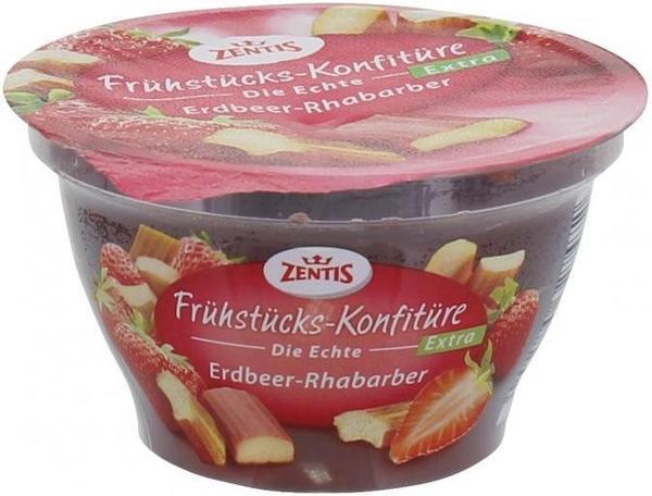 Zentis Frühstücks-Konfitüre Erdbeer-Rharbarber (200 g)