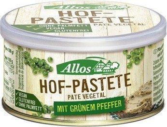 Allos Hof-Pastete Grüner Pfeffer (125g)