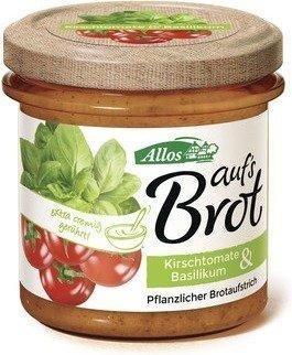 Allos Auf's Brot Kirschtomate Basilikum (140g)