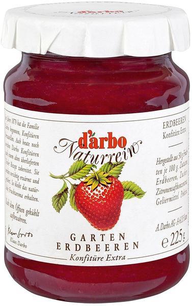 Darbo Naturrein Garten Erdbeeren Konfitüre Extra (450g)