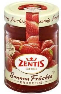 Zentis Sonnen Früchte Erdbeere (295g)