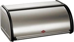 Wesco Rollbrotkasten 33 cm neusilber