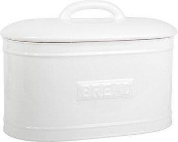IB Laursen Brotbox oval Keramik weiß