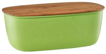 Zeller Brotkasten Bamboo Fiber/Bamboo 35,4 x 20 x 13 cm (grün)