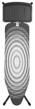 brabantia Bügeltisch B 124x38 mit Ablage für Dampfbügelstationen Titan Oval (101083)