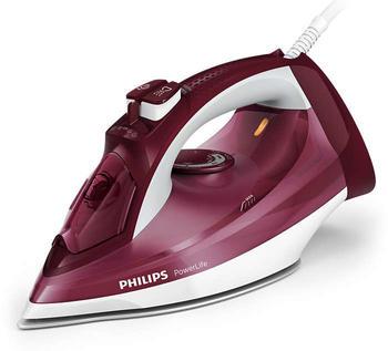 Philips GC 2997/40 POWERLIFE 2400W ROT, Dampfbügeleisen, 2400 Watt, Rot/Weiß Dampfbügeleisen