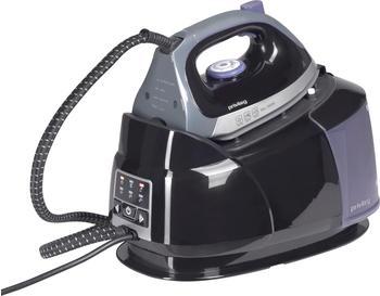 Privileg Dampfbügelstation schwarz/violett