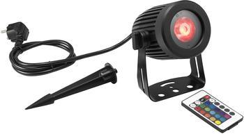 Eurolite LED IP Spot-15W RGBW Outdoor-Scheinwerfer mit Erdspieß