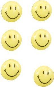 Zeller Magnet-Set Smiley 6-Stk.(11204)