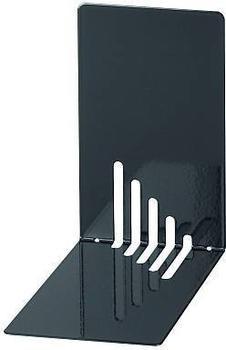 Maul Buchstütze Metall schmal 14x8,5x14cm schwarz