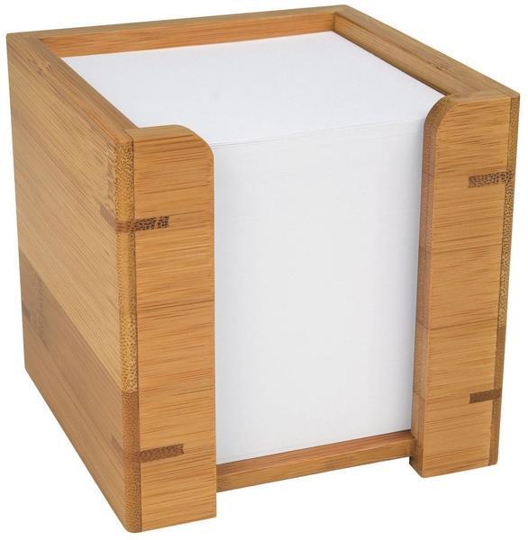 Wedo Zettelbox Bambus