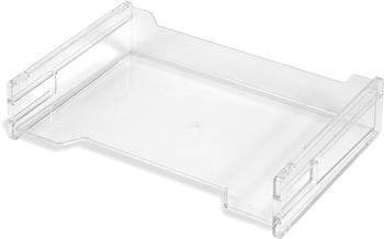 Herlitz Ablagekorb A4 quer transparent