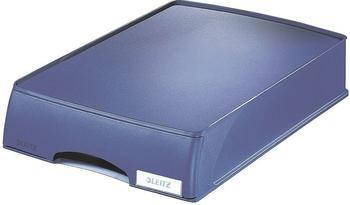 Leitz Briefablage Plus mit Schublade A4 blau
