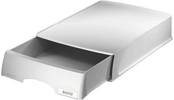 Leitz Briefablage Plus mit Schublade A4 grau