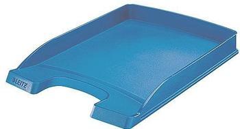 Leitz Plus Briefkorb A4 extra flach blau
