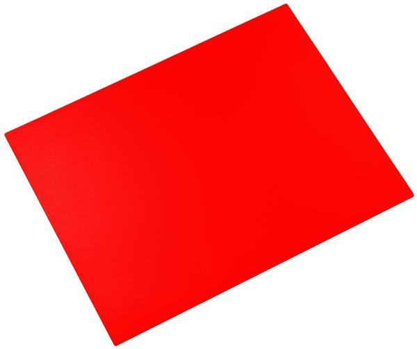 Läufer Schreibunterlage Durella 40x53cm pop-rot