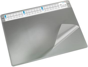 Läufer Schreibunterlage Durella Soft 500x650mm grau