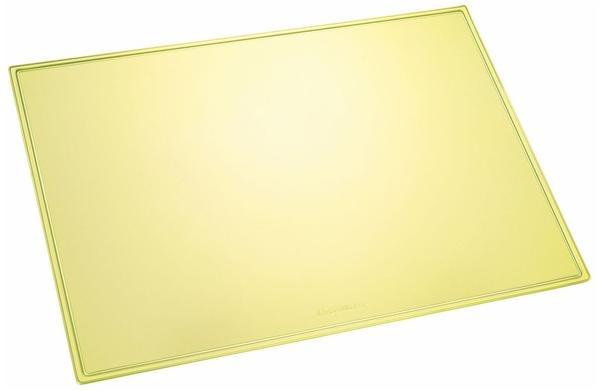 Läufer Schreibunterlage Durella transluzent Neon-Gelb