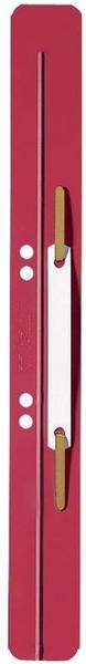 Leitz Heftstreifen 35x310mm PP-Folie rot