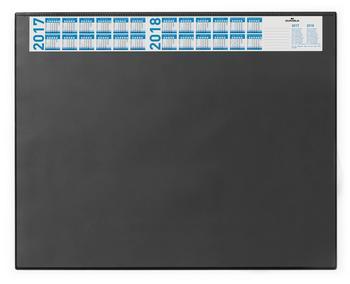 DURABLE Schreibunterlage mit Vollsichtauflage 65x52cm schwarz
