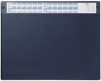 DURABLE Schreibunterlage PVC mit auswechselbarer Vollsichtauflage 65x52cm blau