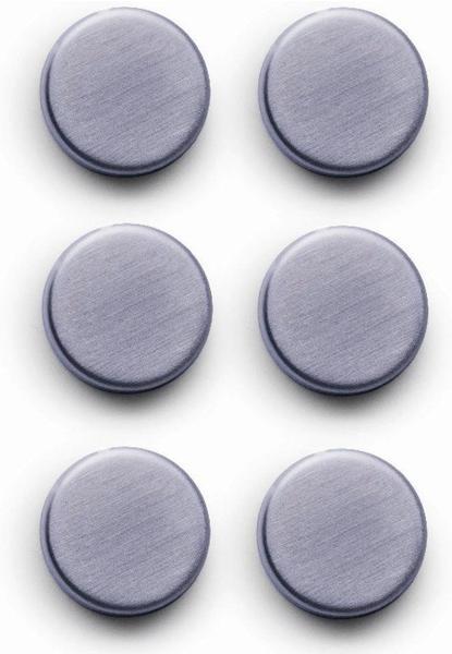 Zeller Magnet-Set 6-tlg. Edelstahl