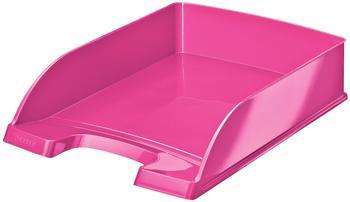 Leitz Briefablage Wow A4 pink-metallic