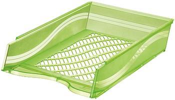 BENE Briefkorb grün-transparent